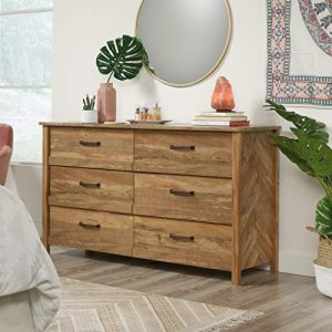 Sauder Cannery Bridge Dresser, Sindoori Mango finish