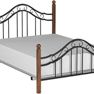 Hillsdale Furniture Madison Bed Set, Queen, Textured Black
