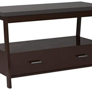 "Mainstays Logan TV Stand For Flat Screen TVs up to 47"" and up to 50 lbs. (Espresso)"