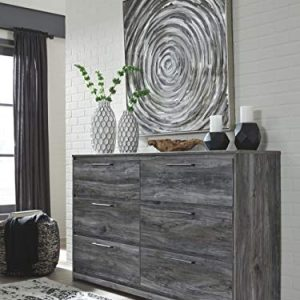 Signature Design by Ashley Baystorm dressers, Gray