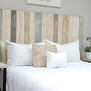 Farmhouse Mix Headboard California King Size, Hanger Style, Handcrafted.