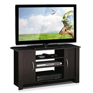Furinno Econ TV Stand Entertainment Center, Espresso