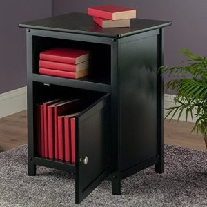 Winsome Wood Henry Accent Table, Black