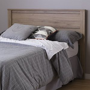 South Shore Fynn Headboard Full 54-Inch, Rustic Oak