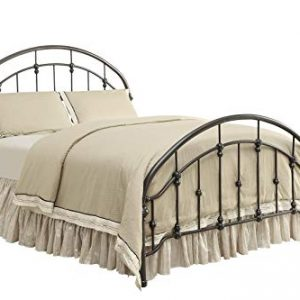 Coaster Home Furnishings Maywood Metal Curved Queen Bed Dark Bronze