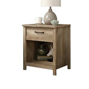 Sauder Cannery Bridge Night Stand, Lintel Oak finish