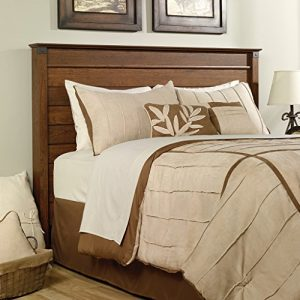Sauder Carson Forge Headboard, Full/Queen, Washington Cherry finish