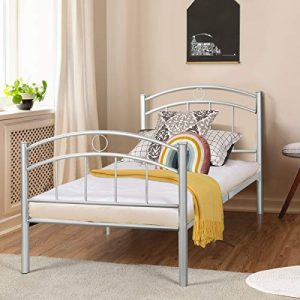 Giantex Twin Size Bed Frame, Premium Metal Bed Frame Platform