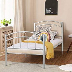 Giantex Twin Size Bed Frame, Premium Metal Bed Frame Platform