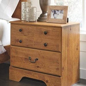 Ashley Furniture Signature Design - Bittersweet Nightstand - 2 Drawers