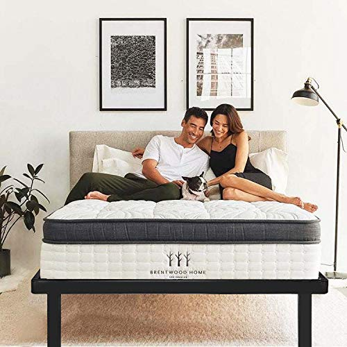 HAAGEEP California King Bed Frame Platform Cal Size Bedframes with Storage No Box Spring Needed Heavy Duty Metal, DCK