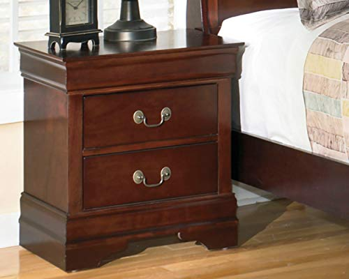 Ashley Furniture Signature Design - Alisdair Nightstand - 2 Drawers - Traditional
