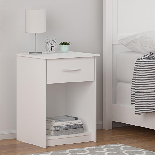 Ameriwood Home Core Nightstand, White