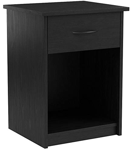 Set of 2 Nightstand MDF End Tables Pair Bedroom Table Furniture Multiple Colors