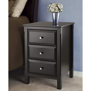 WINSOME Timmy Accent Table, Black