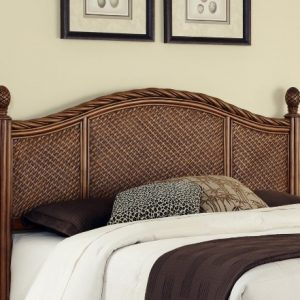 Home Styles Marco Island Cinnamon Queen/Full Headboard Constructed