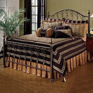 Hillsdale Furniture Huntley Bed Set with with Rails, Queen