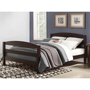 Dorel Living Palm Bay Full Bed, Espresso