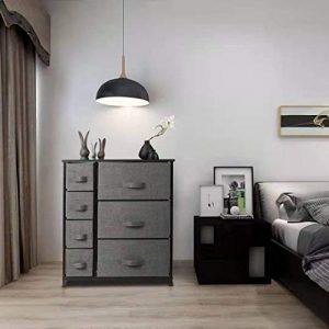 7 Drawers Dresser - Furniture Storage Tower Unit for Bedroom, Hallway, Closet