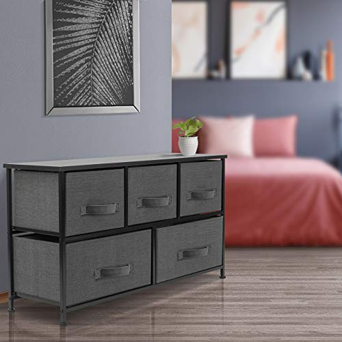 Sorbus Dresser with Drawers - Furniture Storage Chest Tower Unit for Bedroom