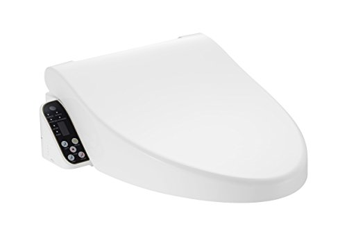Save Toilet Paper with Pacific Bay Cascadia Smart Toilet Seat with Remote Control