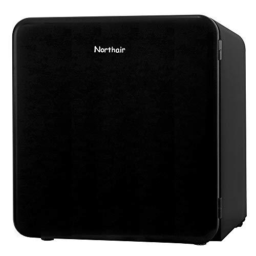 Northair Compact Refrigerator, Retro Style Single Door Freezer Cooler, 1.6 Cu.Ft Mini Refrigerator Fridge with Drink Dispenser, Using for Dorm, Garage, Camper, Basement or Office