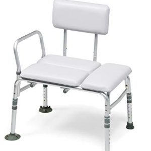 Graham-Field Lumex Padded Tub Transfer Bench & Shower Chair 2-in-1, 7955KD-1