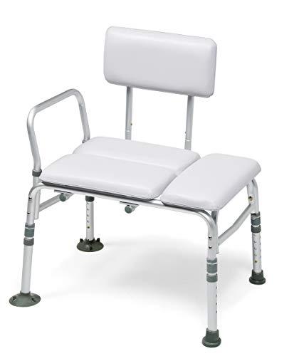 Graham-Field Lumex Padded Tub Transfer Bench & Shower Chair 2-in-1, 7955KD-1