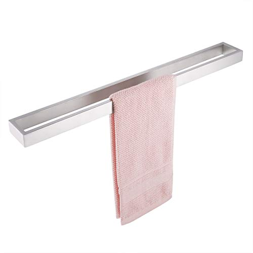 KES Bath Towel Bar 24-Inch Brushed SUS 304 Stainless Steel Hand Towel Rack Bathroom Towel Hanger Contemporary Style Wall Mount, A23000S60-2