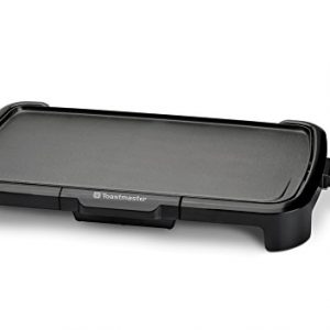 "Toastmaster TM-201GR Griddle, 10 x 20"", Black"