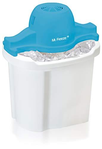 MaxiMatic EIM-404 Mr Freeze Electric Ice Cream Maker, 4-Quart, White