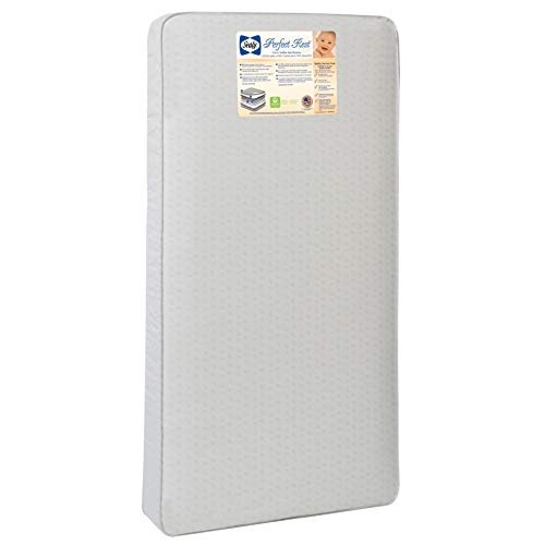 Sealy Baby Perfect Rest Waterproof Standard Toddler and Baby Crib Mattress