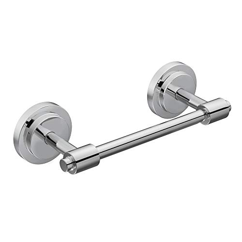Moen DN0708CH Iso Collection Double Post Modern Pivoting Toilet Paper Holder, Chrome