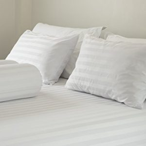 East Coast Bedding 2 Pack Luxury Goose Feather & Down Filled Pillows for Sleeping – Real Soft Geese Feather Bed Pillow Set w/Cotton Shell (Queen Size)