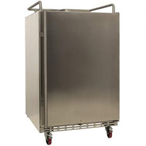 EdgeStar BR7001SSOD Full Size Built-In Outdoor Kegerator Conversion Refrigerator Only - Stainless Steel