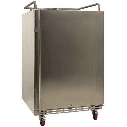 EdgeStar BR7001SSOD Full Size Built-In Outdoor Kegerator Conversion Refrigerator Only - Stainless Steel
