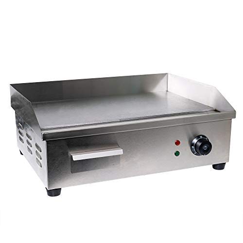 WYZworks WYZ-STEAK-OVEN Electric Counter Griddle, Flat, Stainless Steel