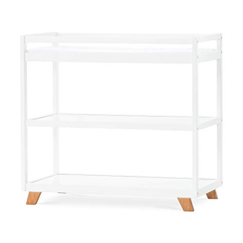 Forever Eclectic by Child Craft SOHO Changing Table, White/Natural
