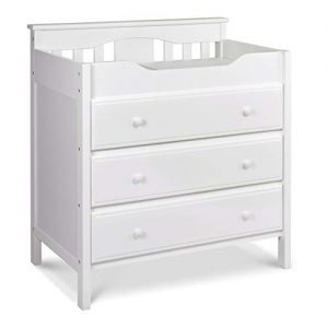 Jayden 3 Drawer Changer Dresser in White