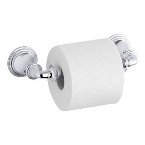 KOHLER Devonshire Toilet Paper Tissue Holder, Polished Chrome, K-10554-CP