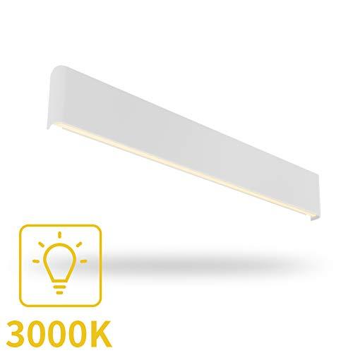 Aipsun 30W/32.6 inch Modern LED Vanity Light for Bathroom Modern Wall Sconce Bathroom Wall Mount Light Up and Down Modern Wall Light for Bedroom Living Room (Warm White 3000K)
