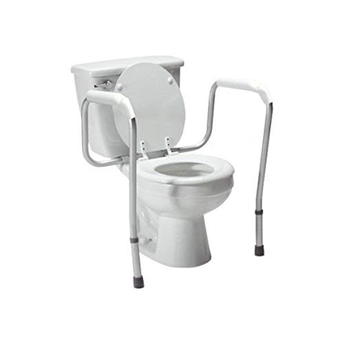 Lumex Versaframe Toilet Safety Rail, Adjustable-Height, 250 lb. Weight Capacity, 6465A-1