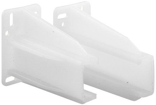 Prime-Line R 7227 Rear Drawer Track Socket, Nylon, White