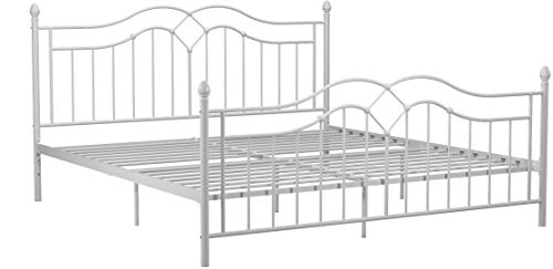 DHP Tokyo Metal Bed, White, King Package deal Dimensions: 78.zero x 83.zero x 44.5 inches