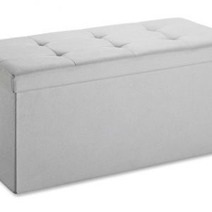 Whitmor Collapsible Storage Bench - Paloma Gray