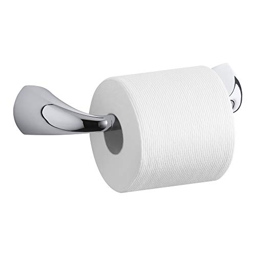 KOHLER Alteo Pivoting Toilet Paper Tissue Holder, Polished Chrome, K-37054-CP