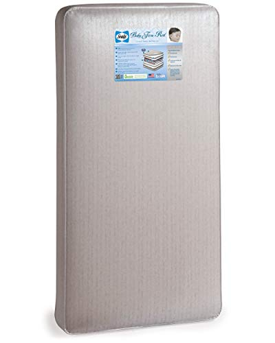 Sealy Baby Firm Rest Waterproof Standard Toddler and Baby Crib Mattress