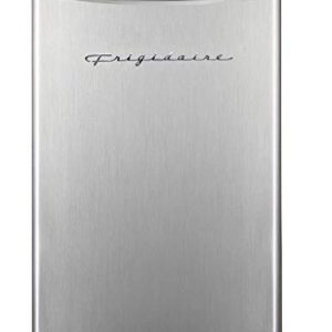Frigidaire EFR323 3.2 cu ft Compact Fridge, Mini Refrigerator, Stainless Steel, Platinum Series