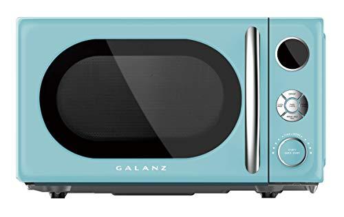 Galanz 0.7 Retro cu. Ft. 700-Watt Countertop Microwave, Bebop Blue