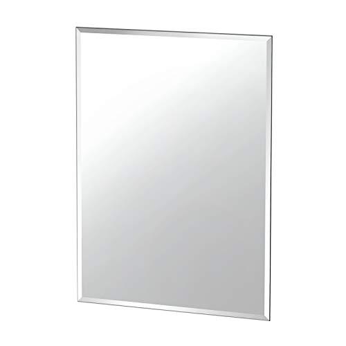 "Gatco Beveled Easy Mount Mirror, 31.5"" H x 23.5"" W, Silver"